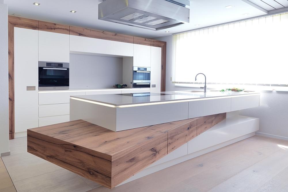 Island kitchens | Kitchen systems | Xila | Boffi | Luigi Massoni ... | {Moderne küchen altholz 39}